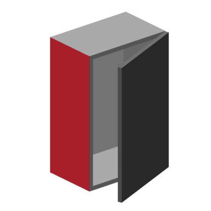 Lackfront Hochglanz Modern bunt, Wange/Abdeckseite