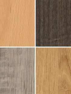 Dekorfront matt Holzreproduktion